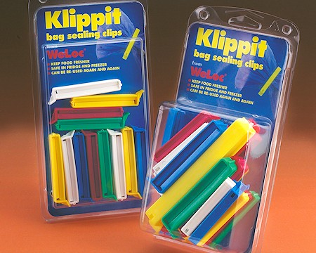 Klippit - the simple, but strong re-useable sealing clip